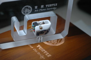 Jasmine audio turtle mc cartridge in it's bomb proof protection